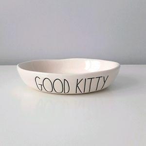 NWT Rae Dunn cat dish/bowl